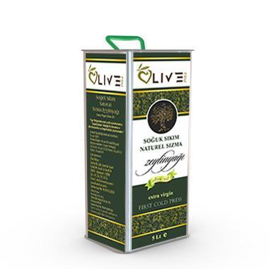 Olive You Naturel Soğuk Sıkım Sızma Zeytinyağı 5 Lt