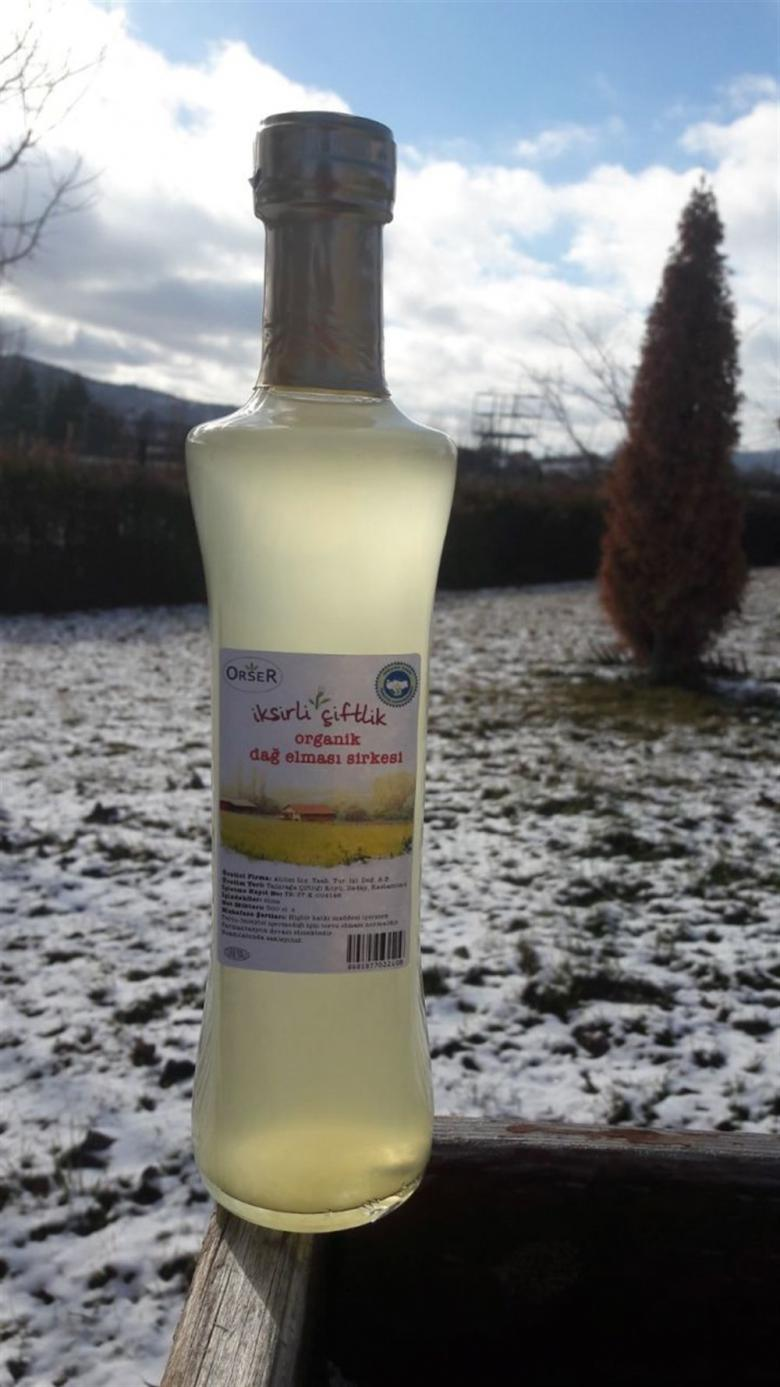 Organik Elma Sirkesi (Dağ elması ile) 500 ml