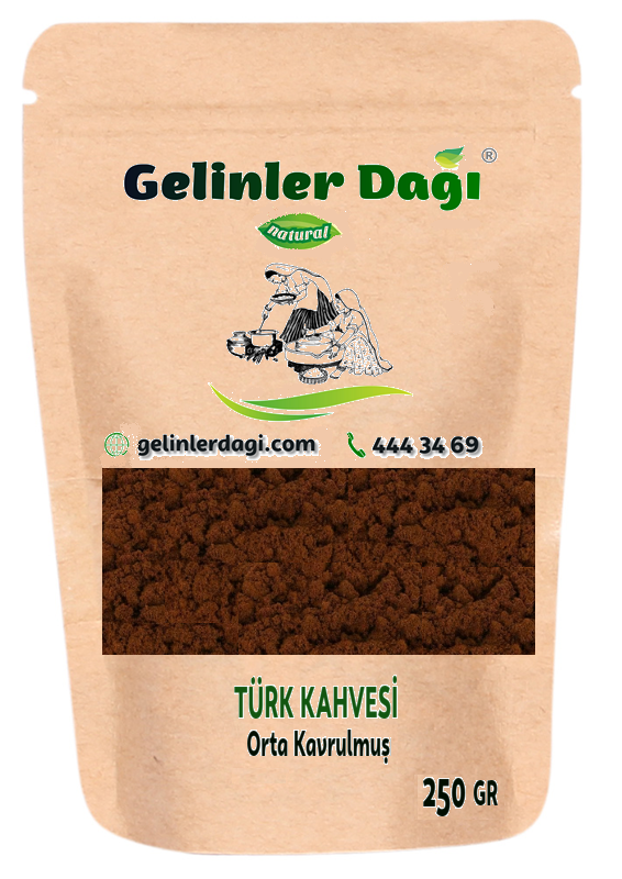 Antakya Türk kahvesi (Orta Kavrulmuş) 250 g