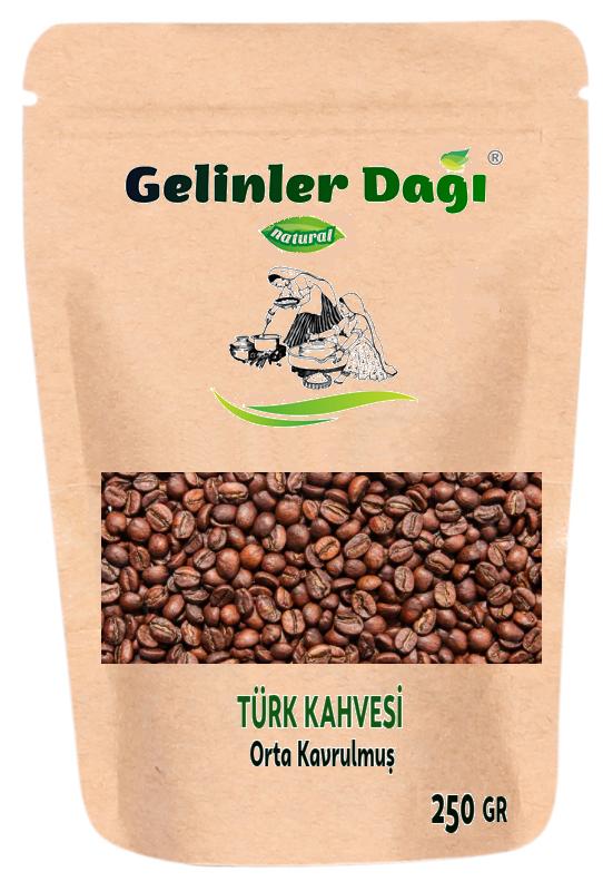 Antakya Kavrulmuş Türk kahve Çekirdeği (Orta Kavrulmuş) 250 g