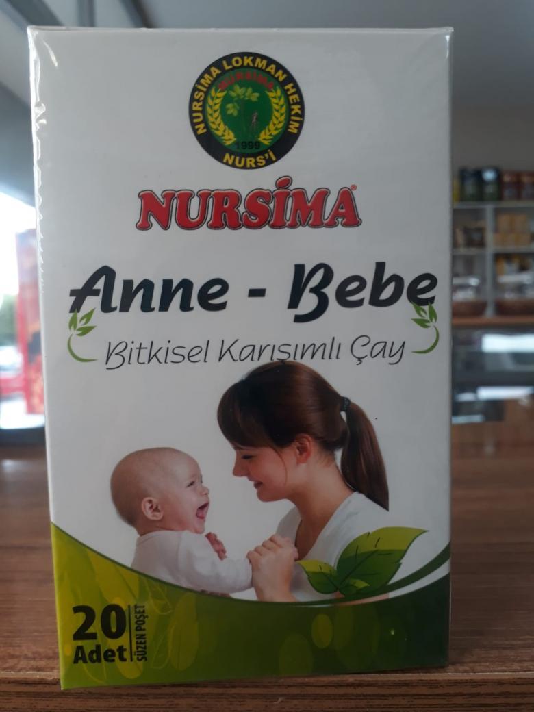 Anne-Bebe çayı 20 adet)