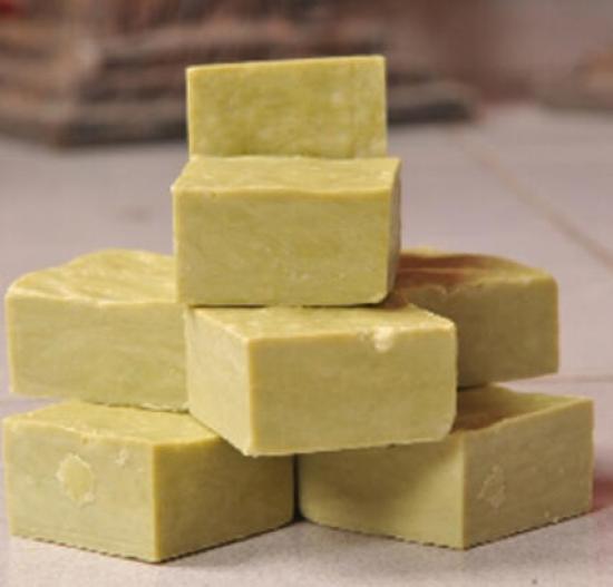 Ev Yapımı Natural Saf Zeytinyağlı Defne Sabunu(33) 1000 g